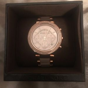 NWT Rose Gold Michael Kors watch